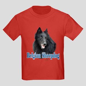 BelgianSheepName Kids Dark T-Shirt