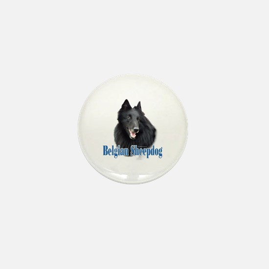 BelgianSheepName Mini Button