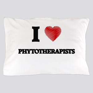 I love Phytotherapists (Heart made fro Pillow Case