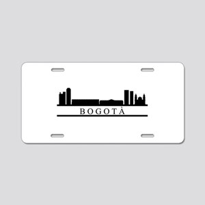 skyline bogotà Aluminum License Plate