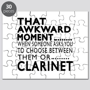 Clarinet Awkward Moment Designs Puzzle