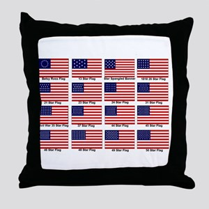 A History of Flags Pillow