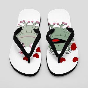 Frog couple love Flip Flops