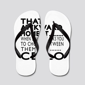 Cello Awkward Moment Designs Flip Flops