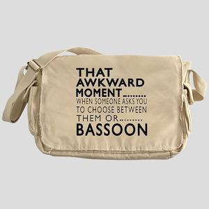 Bassoon Awkward Moment Designs Messenger Bag