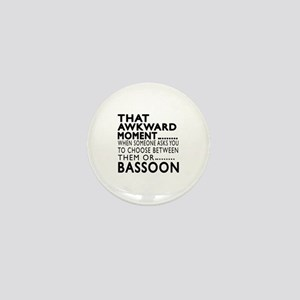 Bassoon Awkward Moment Designs Mini Button