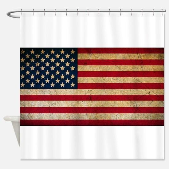 America Shower Curtain