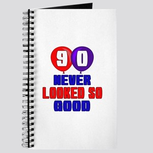 90 Never Looked So Good Journal