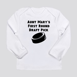 Aunts First Round Draft Pick Long Sleeve T-Shirt