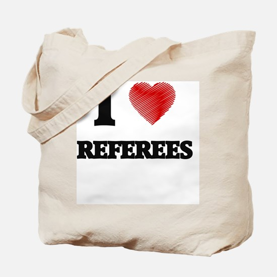 Cute Referees Tote Bag