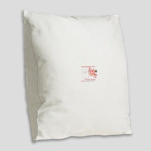 Always Remember BETTY 2 Burlap Throw Pillow