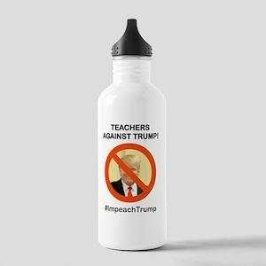 TEACHERS AGAINST TRUMP Stainless Water Bottle 1.0L