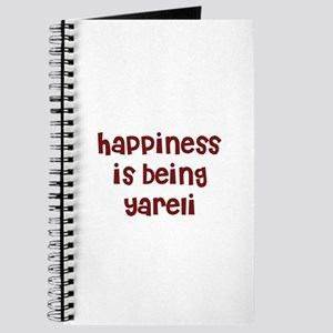 happiness is being Yareli Journal