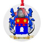 Peberdy Round Ornament