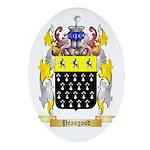 Peasgood Oval Ornament
