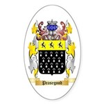 Peasegood Sticker (Oval 10 pk)