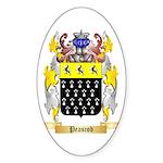 Peascod Sticker (Oval)