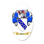 Peart Oval Car Magnet