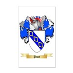 Peart 35x21 Wall Decal