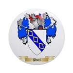 Peart Round Ornament
