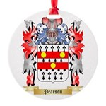 Pearson Round Ornament