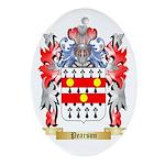 Pearson Oval Ornament
