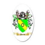 Pearse 20x12 Oval Wall Decal