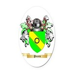 Pears Oval Car Magnet