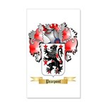 Pearpont 20x12 Wall Decal