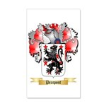 Pearpont 35x21 Wall Decal