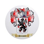 Pearpont Round Ornament