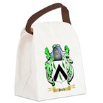 Pearls Canvas Lunch Bag