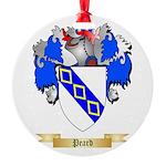 Peard Round Ornament