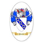 Peard Sticker (Oval 10 pk)