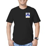 Peale Men's Fitted T-Shirt (dark)