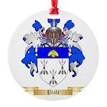 Peale Round Ornament