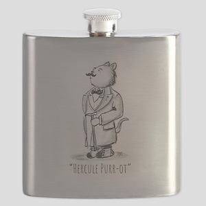 Hercule Purr-ot, Cat Detective Flask