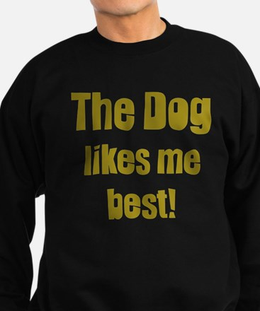The Dog Likes Me Best' Jumper Sweater