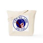 USS W. L. Lind (DD 703) Tote Bag