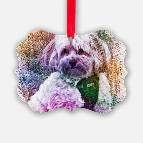 Copper the Havapookie Ornament
