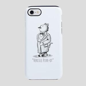 Hercule Purr-ot, Cat Detecti iPhone 8/7 Tough Case