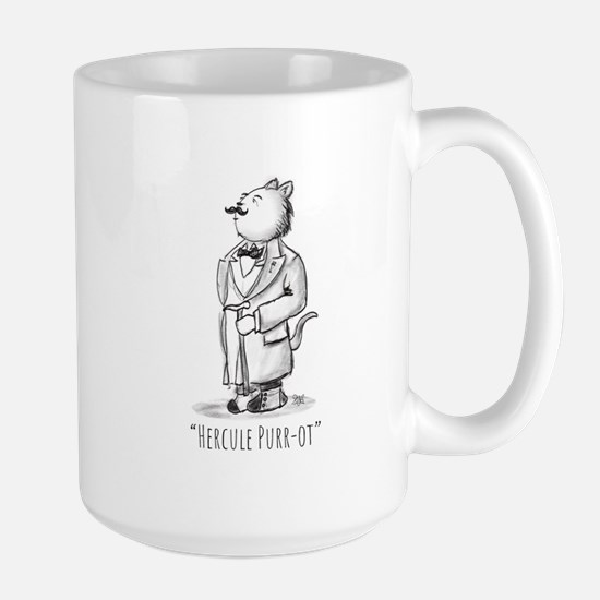 Hercule Purr-ot, Cat Detective Mugs