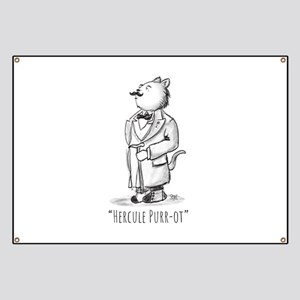 Hercule Purr-ot, Cat Detective Banner