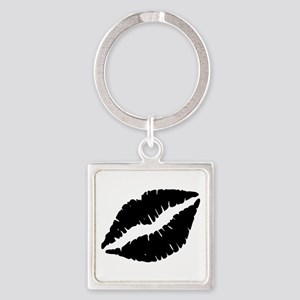 Black Lips Kiss Keychains