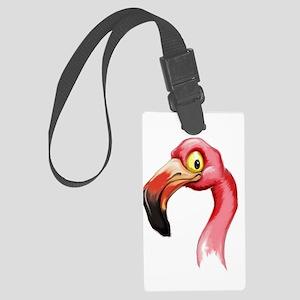 Flamingo Large Luggage Tag