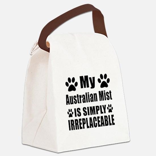 My Australian Mist cat is simply Canvas Lunch Bag