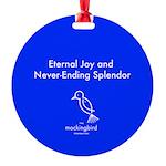 The Mockingbird Foundation Round Lizards Ornament