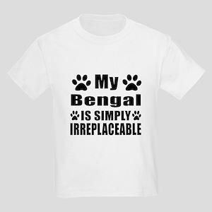 My Bengal cat is simply irrepla Kids Light T-Shirt