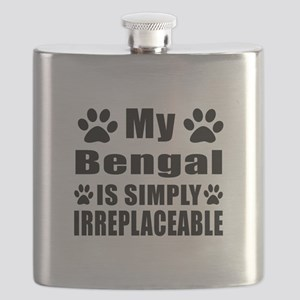 My Bengal cat is simply irreplaceable Flask