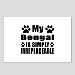 My Bengal cat is simply i Postcards (Package of 8)